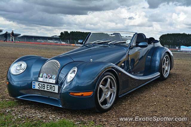 Morgan Aero 8 spotted in Silverstone, United Kingdom