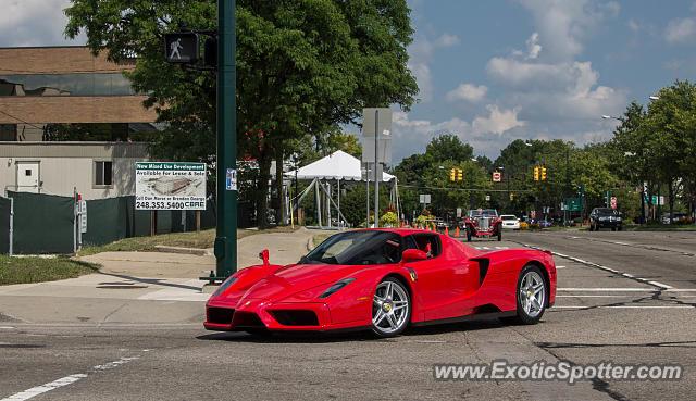 Ferrari Enzo Spotted In Birmingham Michigan On 08 16 2015