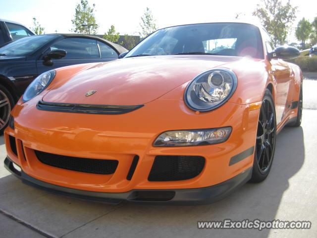 Porsche 911 GT3 spotted in Leawood, Kansas
