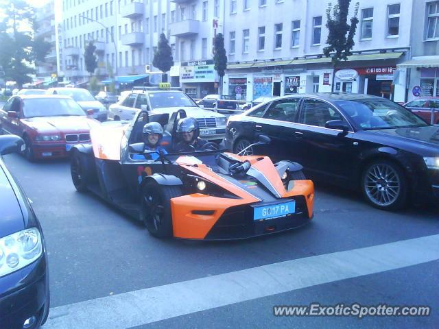 KTM X-Bow spotted in Berlin, Germany