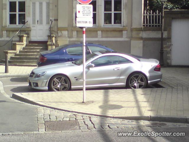 Mercedes sl 65 amg spotted in luxembourg city luxembourg for Mercedes benz luxembourg