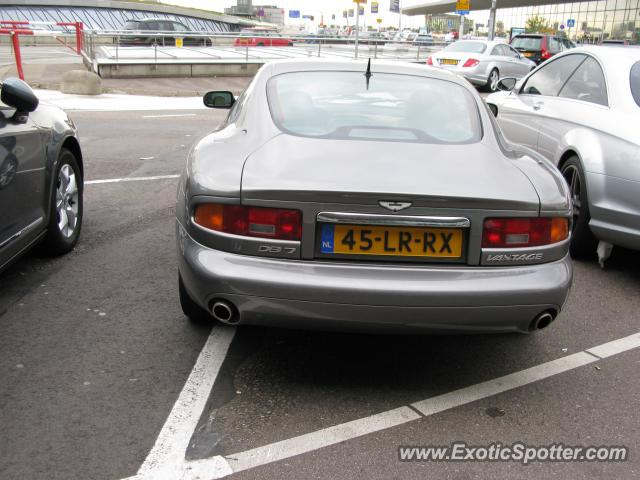 Aston Martin DB7 spotted in Amsterdam, Netherlands