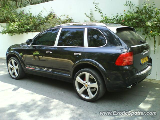 porsche cayenne gemballa 650 spotted in pafos cyprus greece on 08 12 2008. Black Bedroom Furniture Sets. Home Design Ideas