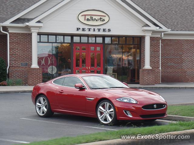 Jaguar XKR spotted in Chattanooga, Tennessee