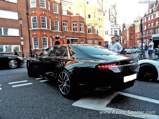 Aston Martin Lagonda Spotted In London United Kingdom On 08222015