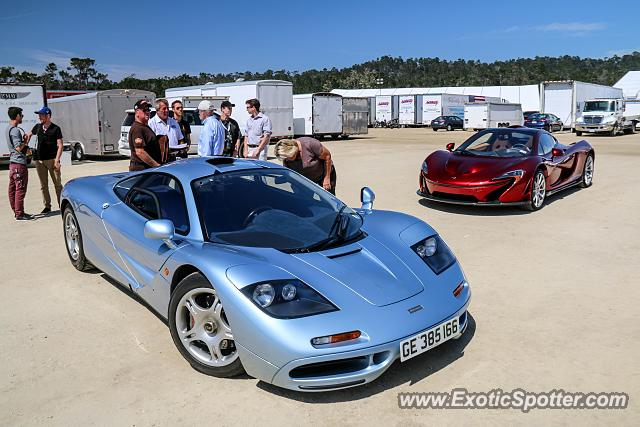 Mclaren F1 spotted in Pebble Beach, California