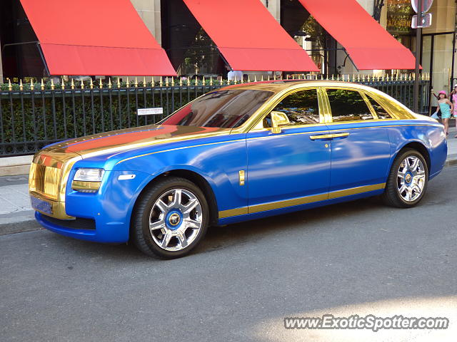 rolls royce ghost spotted in paris france on 08 22 2015 photo 2. Black Bedroom Furniture Sets. Home Design Ideas