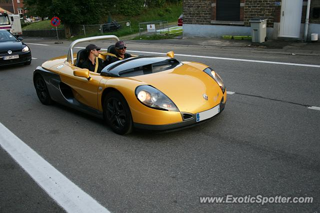 Renault Spider spotted in Malchamps, Belgium