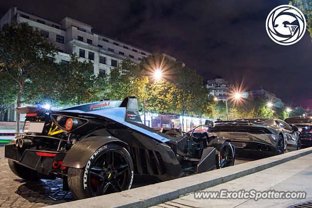 KTM X-Bow spotted in Paris, France