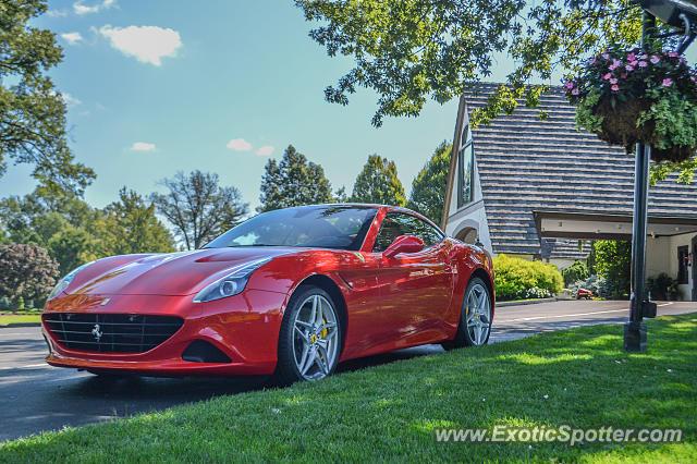 Ferrari California spotted in Cincinnati, Ohio on 08\/22\/2015, photo 2
