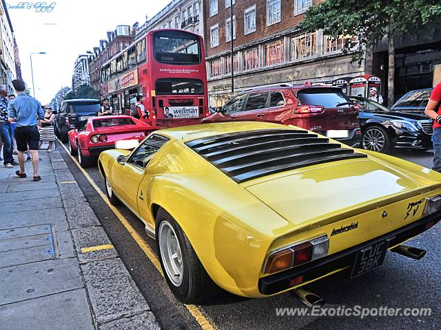 Lamborghini Miura spotted in London, United Kingdom