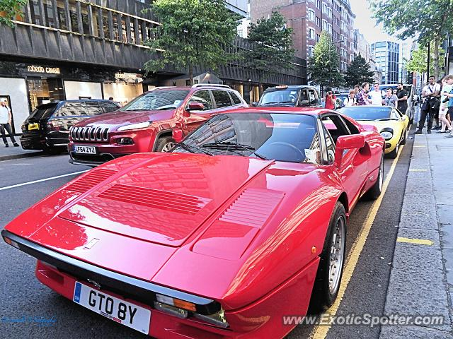 Ferrari 288 GTO spotted in London, United Kingdom