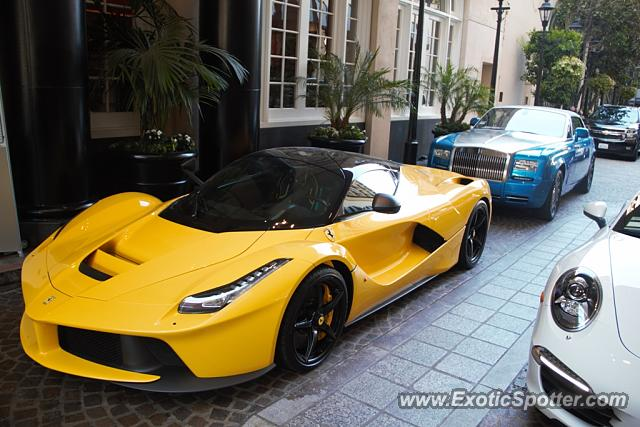 ferrari laferrari spotted in beverly hills california on. Cars Review. Best American Auto & Cars Review