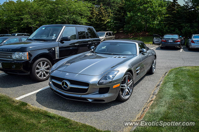 Mercedes SLS AMG spotted in Cape Cod, Massachusetts