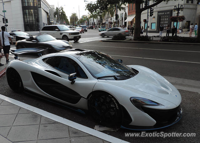 Mclaren Beverly Hills >> Mclaren P1 Spotted In Beverly Hills California On 07 31 2015