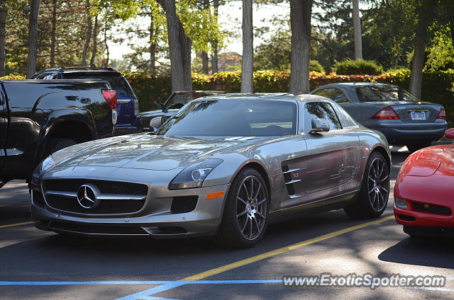 Mercedes sls amg spotted in grand rapids michigan on 09 for Mercedes benz grand rapids