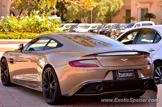 Aston Martin Vanquish Spotted In Newport Beach California On - Newport beach aston martin