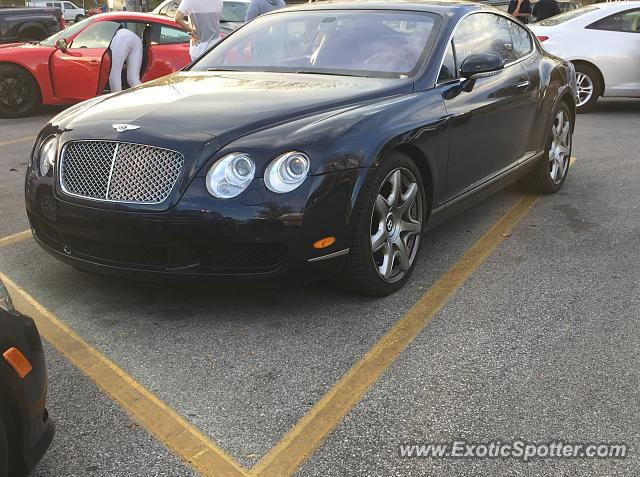 Bentley Continental spotted in Bloomington, Indiana