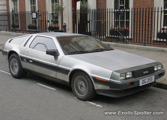 DeLorean DMC-12 spotted in London, United Kingdom