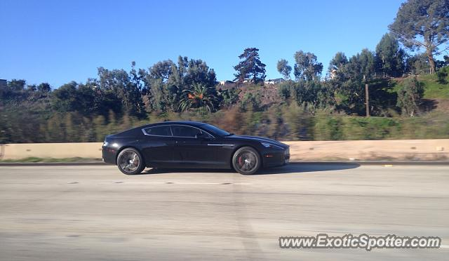 aston martin rapide spotted in san diego california on 10. Black Bedroom Furniture Sets. Home Design Ideas