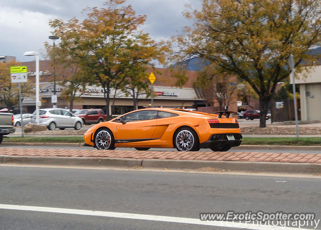 Lamborghini Gallardo spotted in Boulder, Colorado
