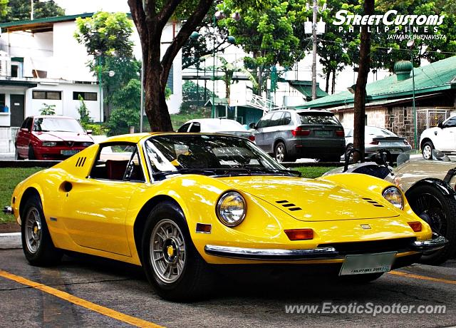 Ferrari 246 Dino spotted in Taguig, Philippines