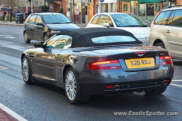 Aston Martin Db9 Spotted In Cambridge United Kingdom On