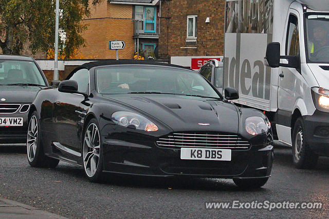 Aston United Kingdom  city images : Aston Martin DBS spotted in Cambridge, United Kingdom on 10/30/2015