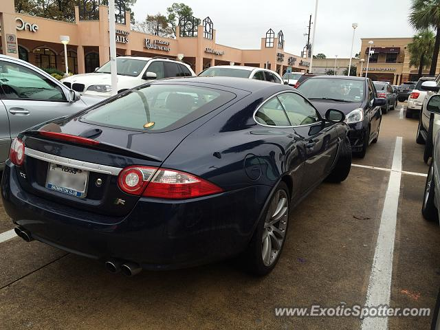 Jaguar XKR spotted in Houston, Texas