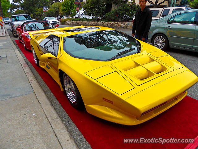 Vector W8 spotted in Carmel, California