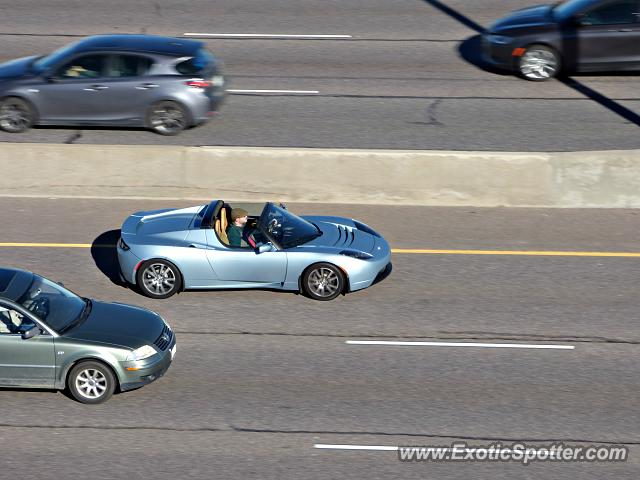 Tesla Roadster spotted in DTC, Colorado