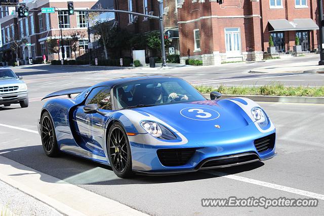 Porsche Of Nashville >> Porsche 918 Spyder Spotted In Nashville Tennessee On 11 08