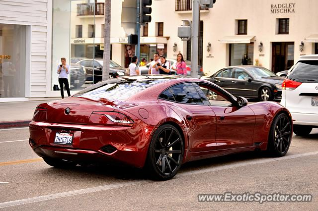 Fisker Karma spotted in Beverly Hills, California