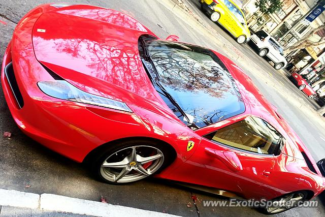 ferrari 458 italia spotted in san francisco california on. Cars Review. Best American Auto & Cars Review