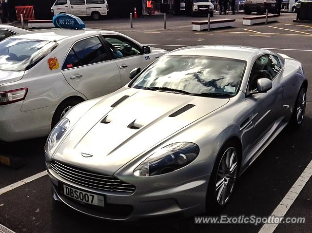 Aston Martin DBS spotted in Auckland, New Zealand