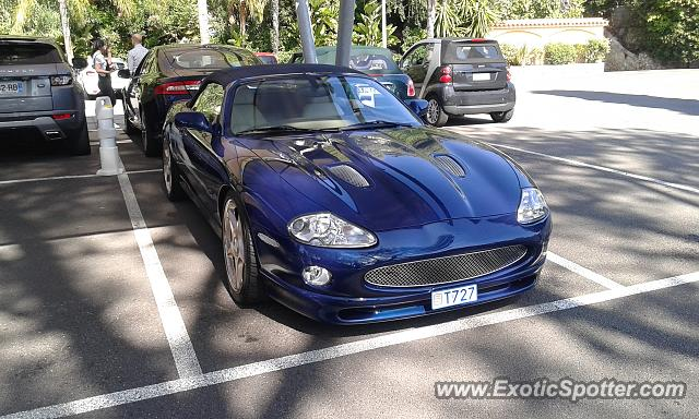 Jaguar XKR spotted in Roquebrune, France