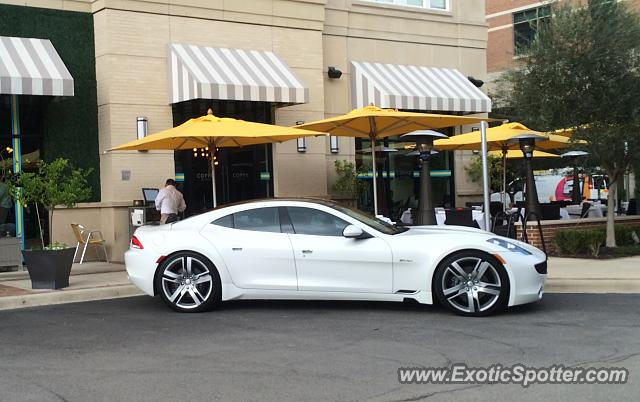 Fisker Karma spotted in Houston, Texas