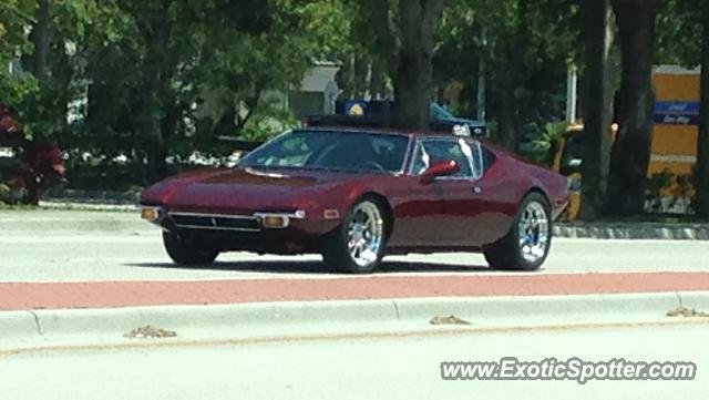 DeTomaso Pantera2 spotted in Jupiter, Florida
