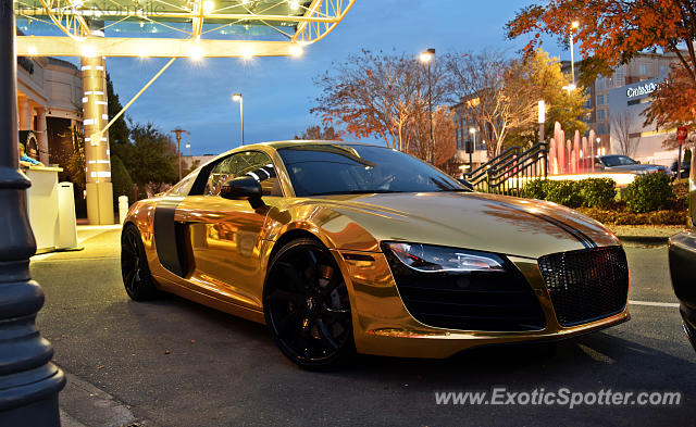 Audi R Spotted In Charlotte North Carolina On - Audi charlotte