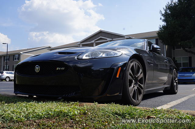 Jaguar XKR-S spotted in Greenville, South Carolina