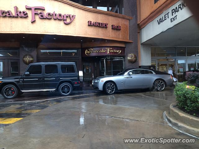 aaa23873bb3a Rolls-Royce Wraith spotted in Houston
