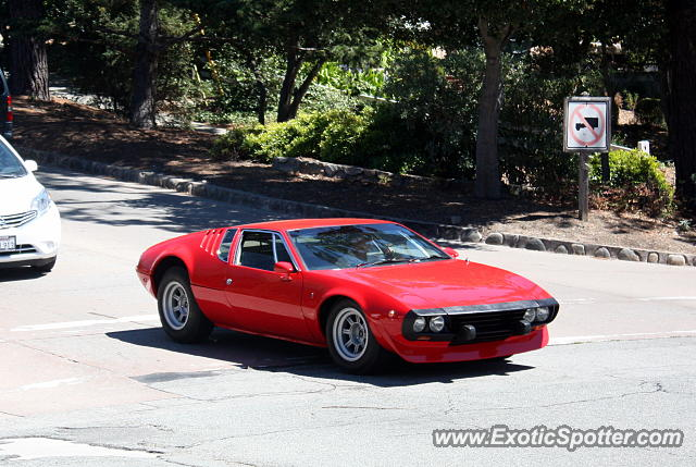 DeTomaso Mangusta spotted in Carmel, California