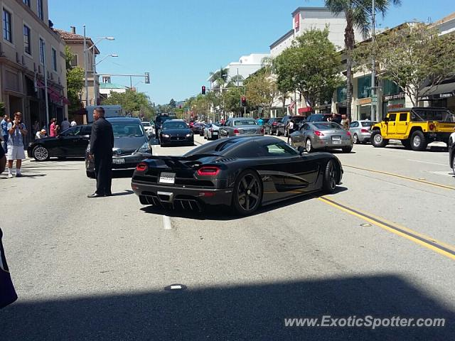 Koenigsegg Agera spotted in Beverly Hills, California