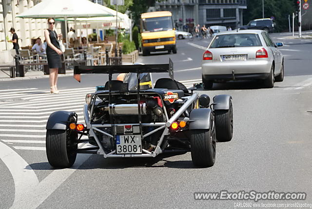 Ariel Atom spotted in Warsaw, Poland