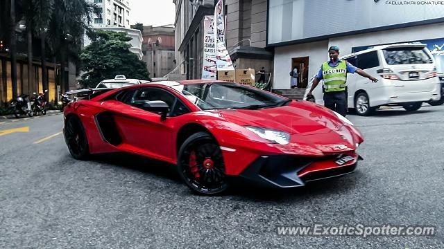Lamborghini Aventador Spotted In Kuala Lumpur Malaysia On 12 19 2015