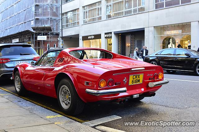 Ferrari 246 Dino spotted in London, United Kingdom