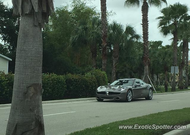 Fisker Karma spotted in Palm B. Gardens, Florida