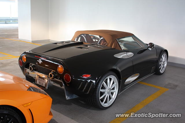 Spyker C8 spotted in Chicago, Illinois