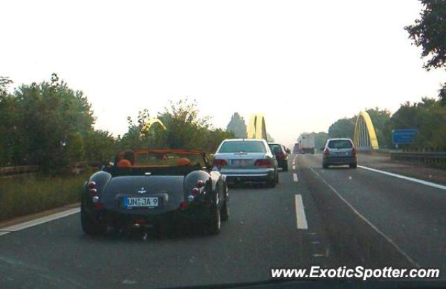 Wiesmann GT spotted in Autobahn, Germany