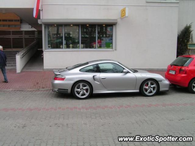Porsche 911 Turbo spotted in Jurata, Poland